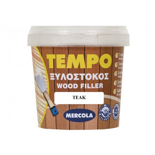 MERCOLA TEMPO WOOD FILLER ΞΥΛΟΣΤΟΚΟΣ TEAK 200 gr