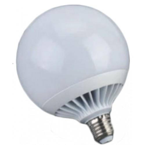 COM ΛΑΜΠΑ LED GLOBE G120 20W / E27 ΘΕΡΜΟΥ ΦΩΤΟΣ 3000K