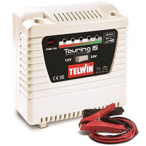 TELWIN TOURING 15  ΦΟΡΤΙΣΤΗΣ ΣΥΝΤΗΡΗΤΗΣ 12/24V