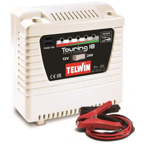 TELWIN TOURING 18 ΦΟΡΤΙΣΤΗΣ ΣΥΝΤΗΡΗΤΗΣ 12/24V